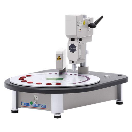 Appareil automatique de mesure de la dureté et de l'épaisseur des joints toriques
