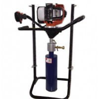 PORTABLE GAS POWERED CORE DRILL W/WATER SWIVEL