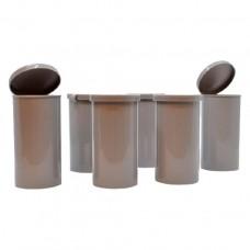 "2"" x 4"" Single-use Plastic Cylinder Mold"