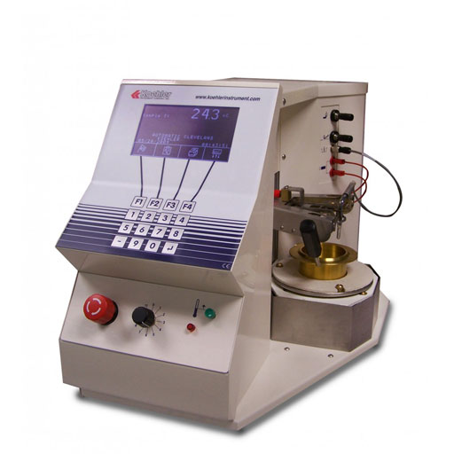 Automatic Cleveland Open Cup Flash Point Tester K87400 | Geneq