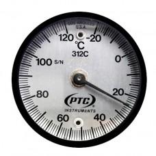 Thermomètre de surface à double aimant