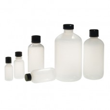 Natural LDPE Boston round bottles