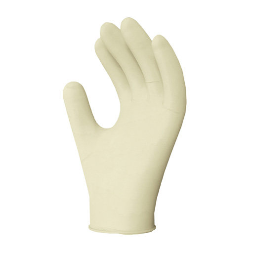 LATEX GLOVES, LIGHTLY POWDERED