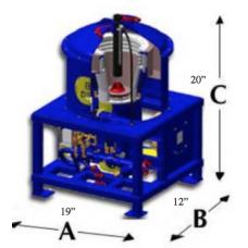 Concentrateur centrifuge de laboratoire