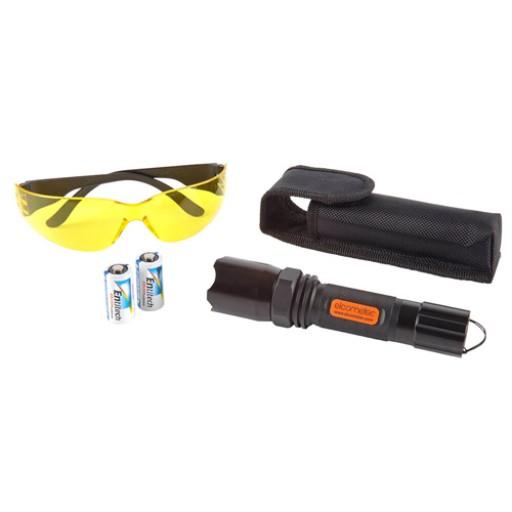 Lampe UV pour la détection de piqûres