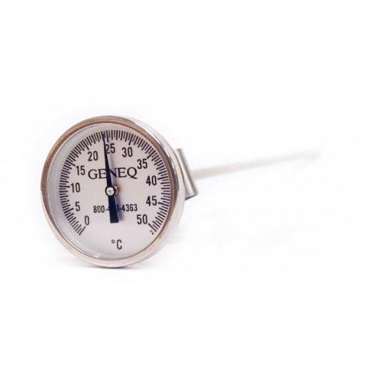 Thermomètre de poche à cadran pour béton