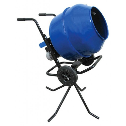 Lightweight, Portable Wheelbarrow Mixer