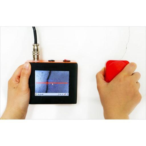 Lecteur de fissure électronique avec caméra