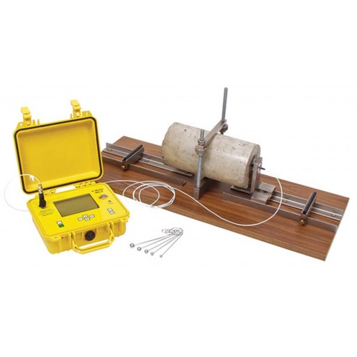 E-Meter for Flexural Resonance of Concrete