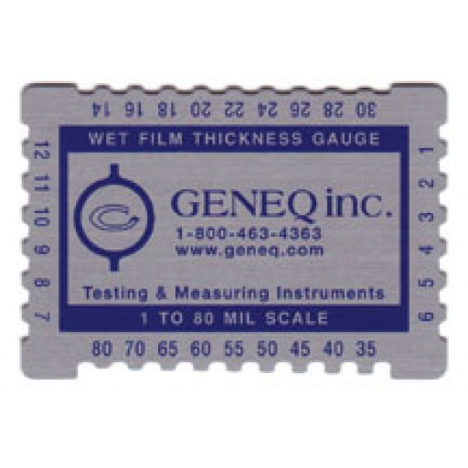 Wet film gauge - combs
