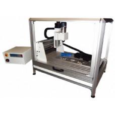 Fraiseuse de découpe d'échantillons de tuyaux ou de matériaux épais