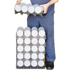 Support pour entreposer les cylindre de béton