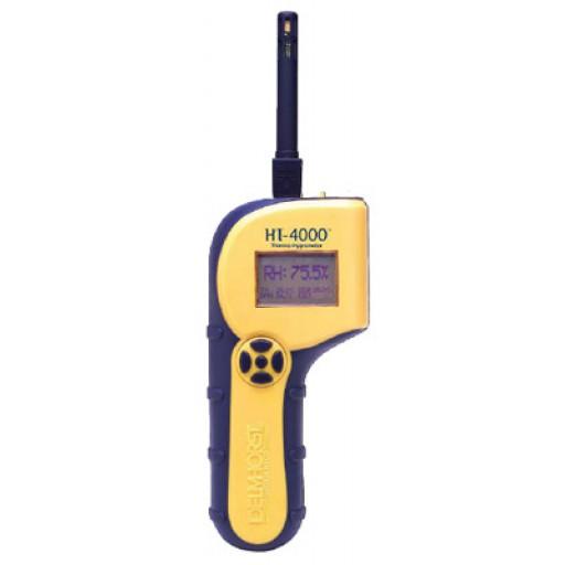 Thermo-hygromètre pour l'installation de planchers