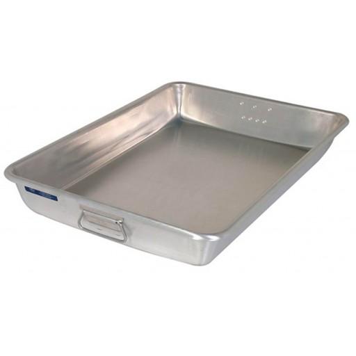 Casseroles rectangulaires en aluminium