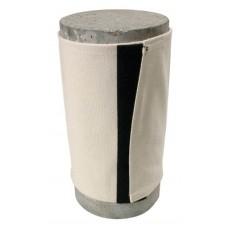 Toile anti-éclat pour cylindre de béton