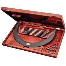 Tubular Bow Type, Interchangeable Anvil Micrometer Set