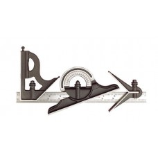 "12"" Combination Set / Non-reversible Protractor Head and Blade"